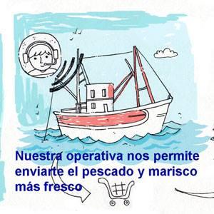 Compra pescado y marisco gallego online