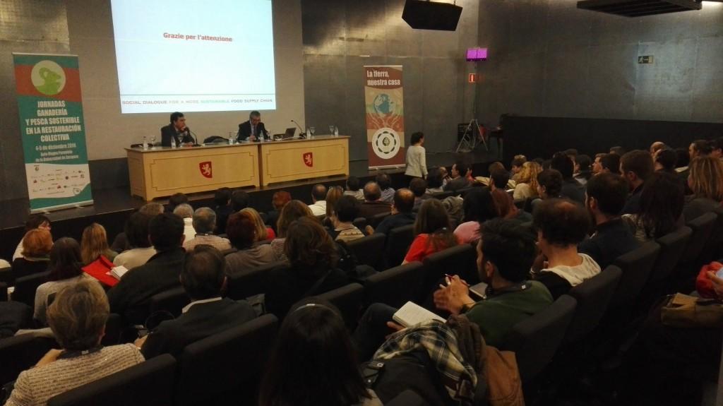 Asamblea constitutiva Mensa Cívica en Zaragoza