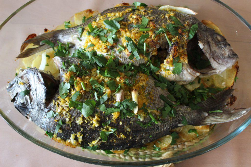 Pescado salvaje: Sargo al horno, un delicioso pescado salvaje