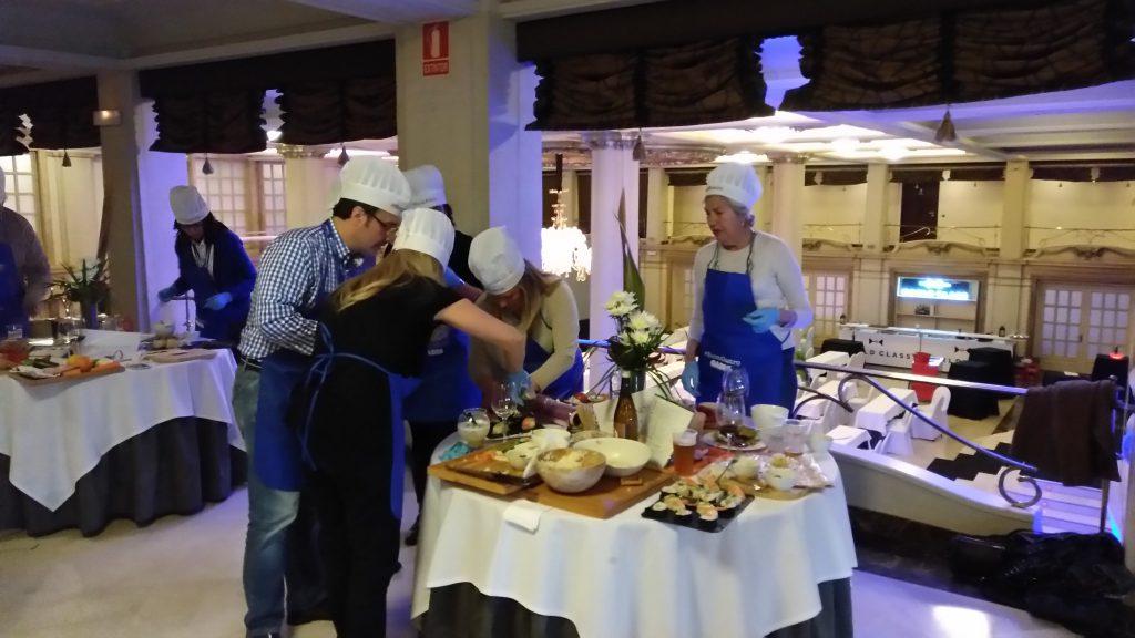 Una cena muy divertida en #EcomGastro
