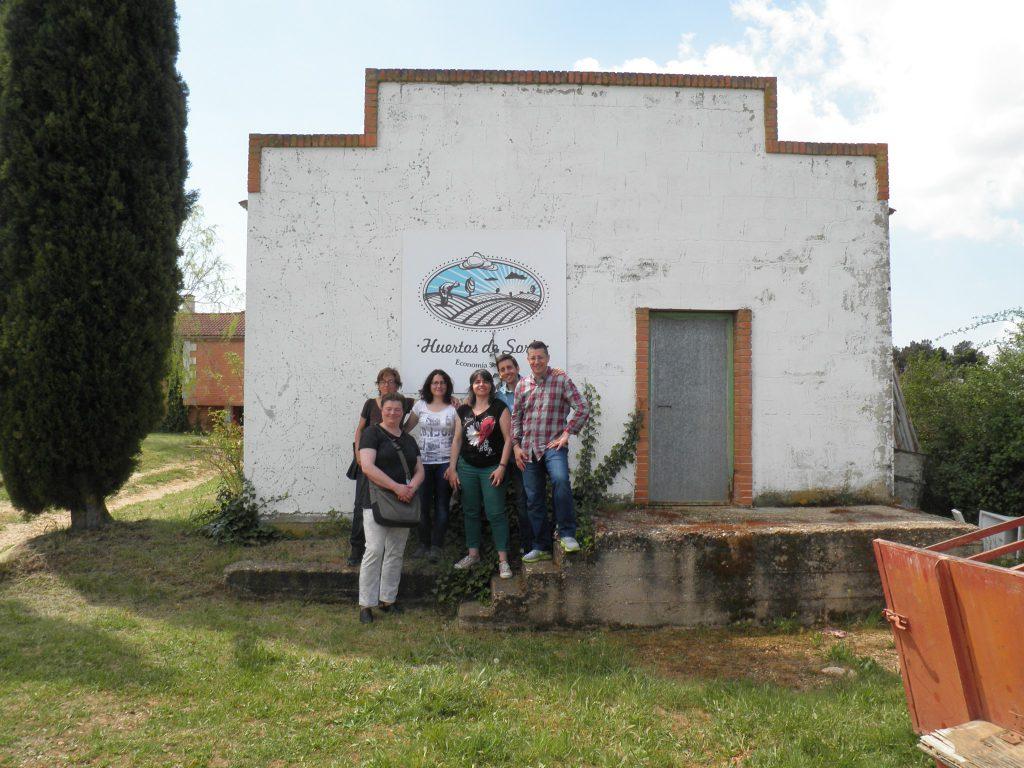 Visita a Huertos de Soria