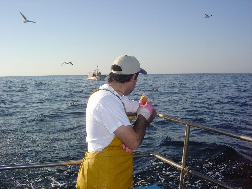 Pescador Artesanal: es la hora del bocata.