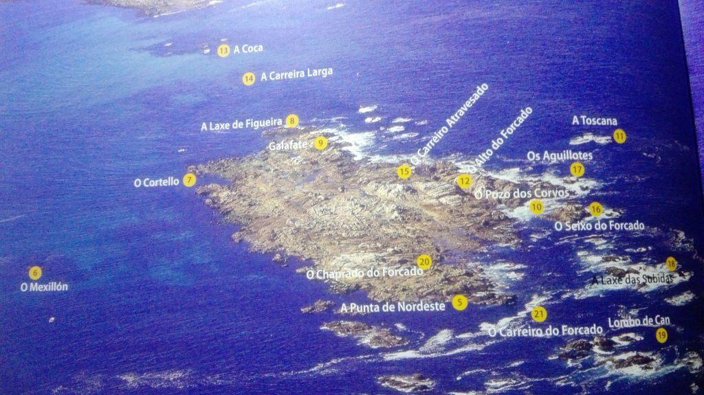 Zona pesca en Lira: marcas d zonas de pesca