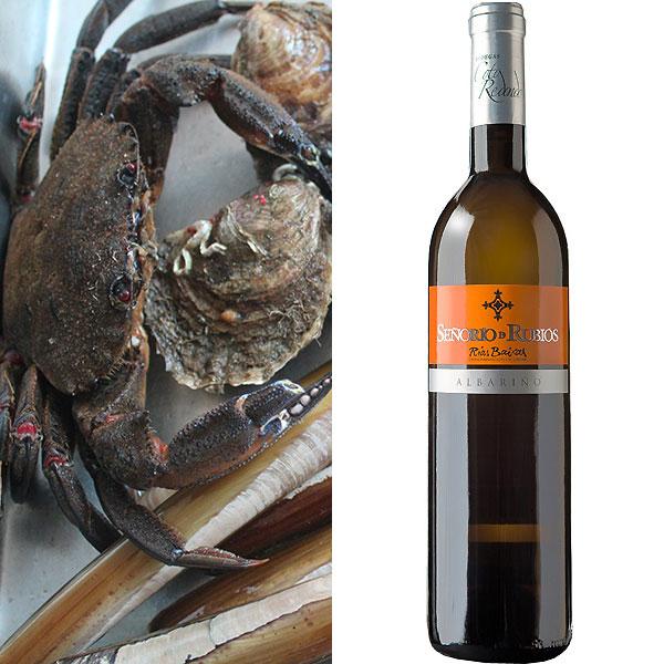 Nuevo lote de marisco gallego y vino albariño, en este caso el marisco son nécoras y ostras