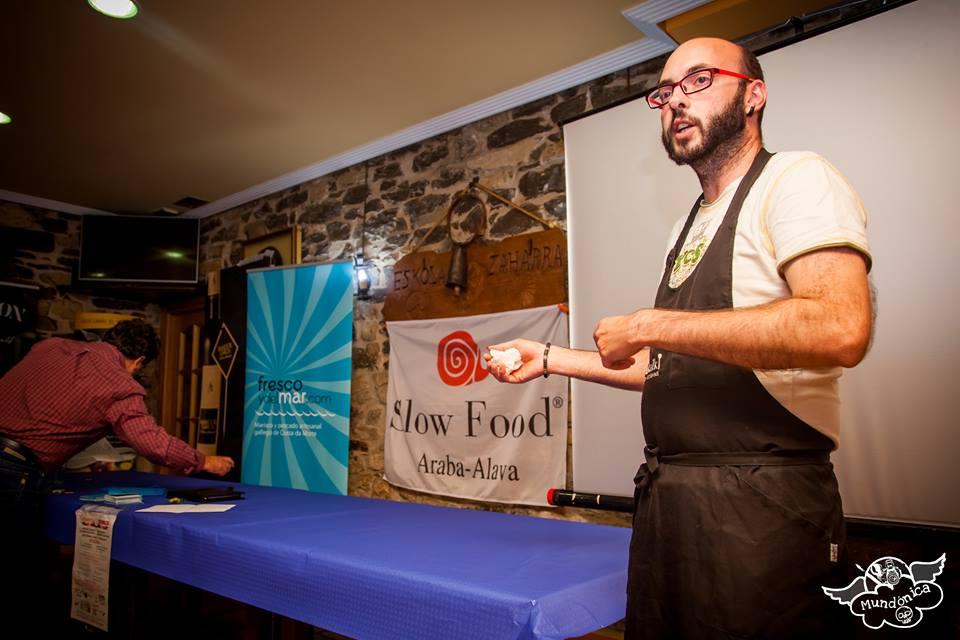 Luis Angel Plágaro del Restaurante Sukalki. Foto: MUNDONICA
