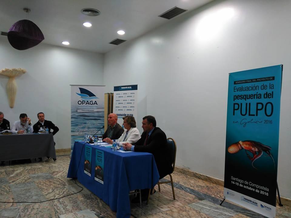 Sesión inaugural Seminario de evaluación de la pesquería del pulpo gallego