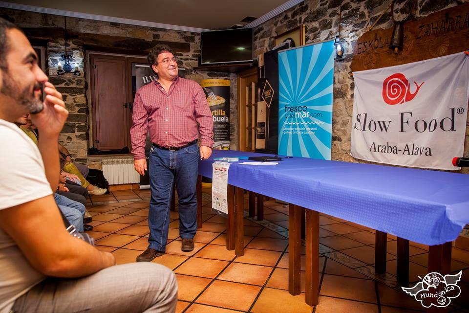 Presentación de la pescadería online por Milucho Louro - Foto: MUNDONICA