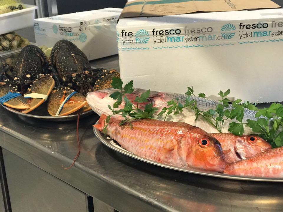Los mejores pescados y mariscos suministrados por Fresco y del Mar