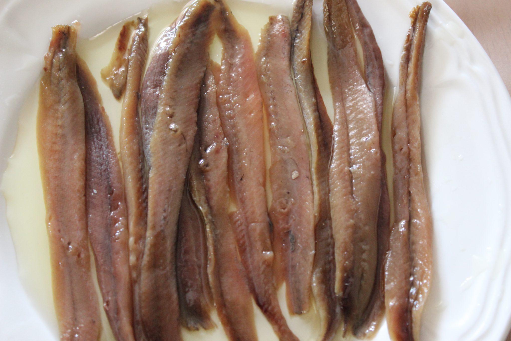 Comprar autenticas anchoas de costera en conserva