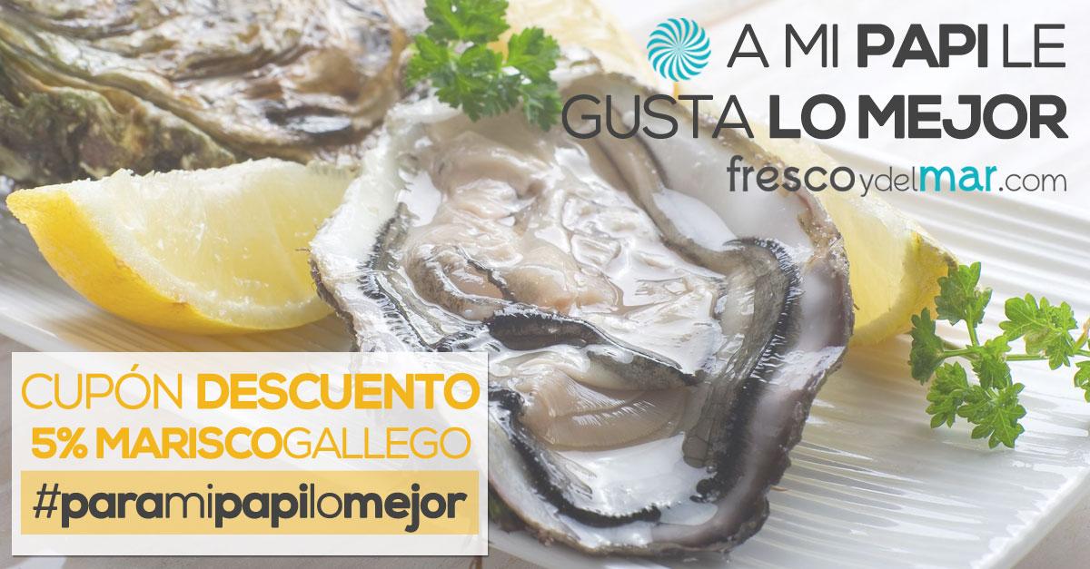 Oferta marisco gallego y pescado fresco