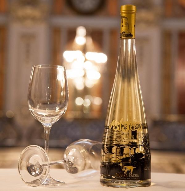Botella vino godello Asolagados