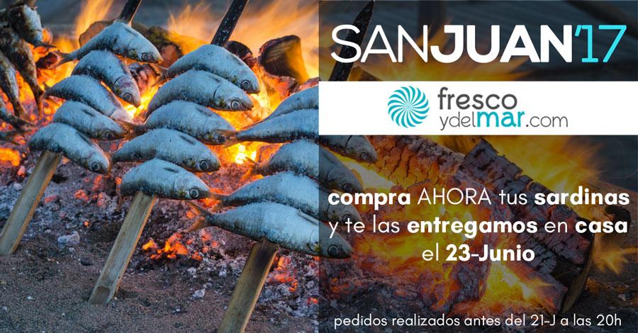 Comprar sardinas buenas para San Juan