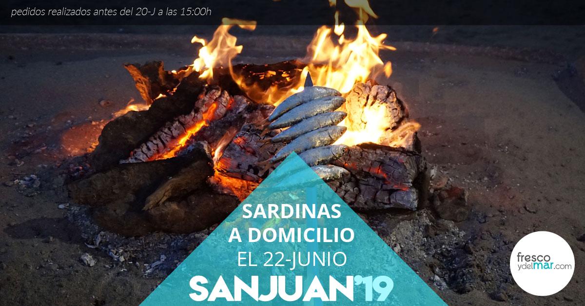 Encarga tus sardinas para San Juan