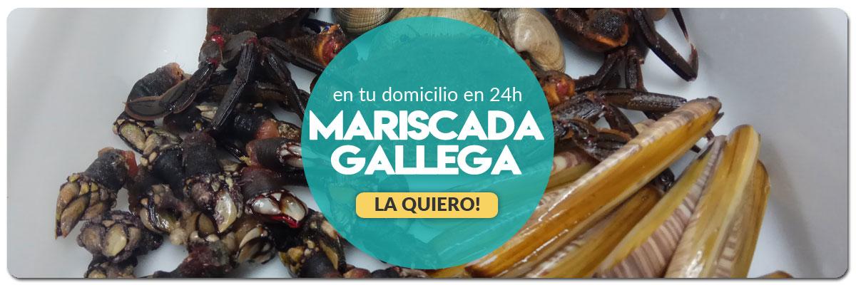 Envío Mariscada Gallega a Domicilio