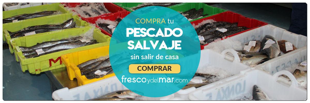 Comprar pescado fresco a domicilio