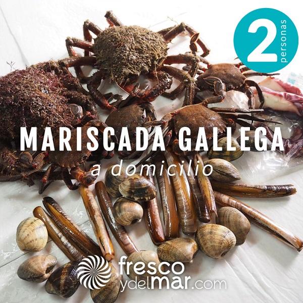 Mariscada gallega para 2 personas