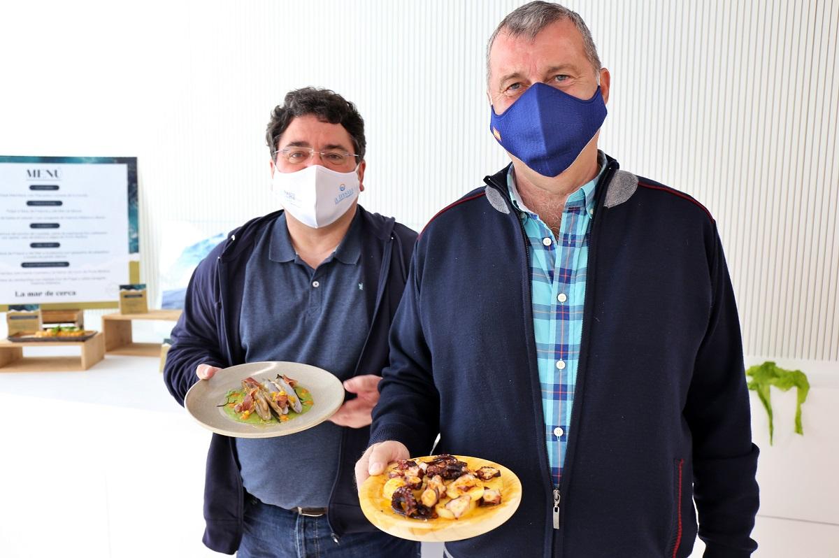 Pesca artesanal de Fresco y del Mar en la jornada gastronómica de Inditex